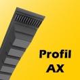 AX - 13mm x 8mm