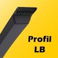 LB - 16,5mm x 9,5mm